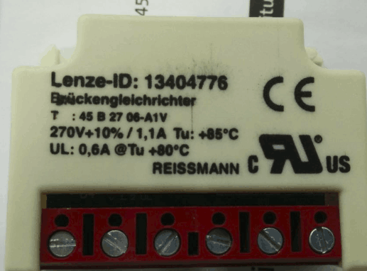 Lenze 13404776 Rectifier